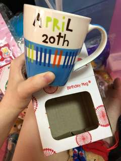 April 20 B-day cup