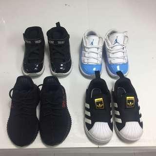 Jordan Nike Yeezy Adidas Toddler Infant Shoes
