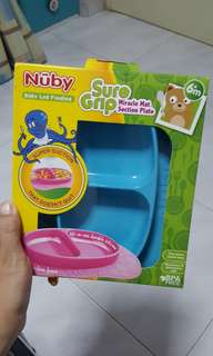 Nûby Sure Grip Miracle Mat Suction Plate