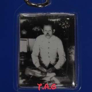 Photo of Aj Fon Deeserwang with his original magic cloth