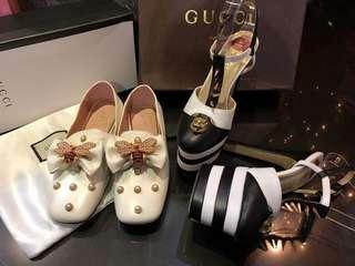 Gucci Butterflies Flat