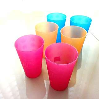PP cup (set of 6)