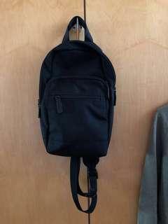 無印良品 質感 潑水加工 肩背包(muji,a&f,Nike,)