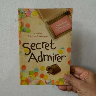 Novel Secret Admirer by Karizza Rakmavika