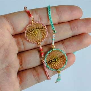 Les Cleias Dreamcather Treads Bracelet