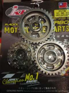 Rs150r gear ratio