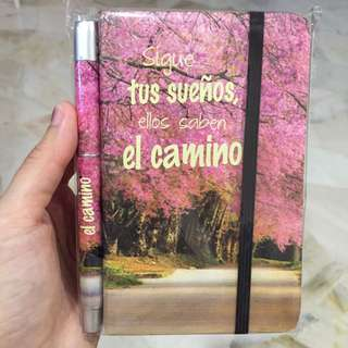 Selling Empty Note Book With Pen From Spain