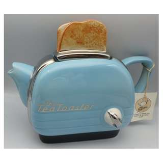 英國制 茶壺 The Tea Toaster Teapot w/tag