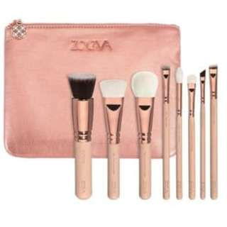 ZOEYA BAG - Dompet 8in1 / isi 8 Kuas Makeup Brush Set Premium