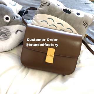 Customer Order Celine Box bag