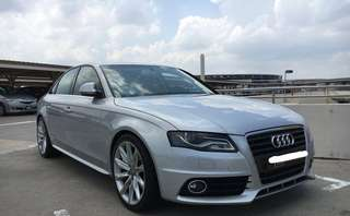 Audi A4 light blue 1.8cc turbo