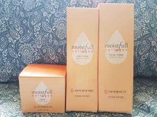 Skin Care Set - toner,moisturizer,cream