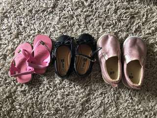 3 for $10 Baby shoes (0-18 months old)