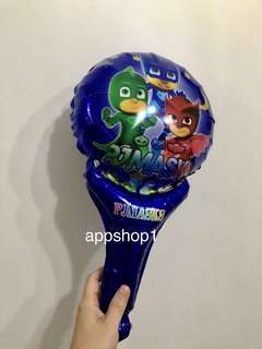 PJ Mask handheld balloons- children goodies favors, birthday party door gift, goodie bags packages