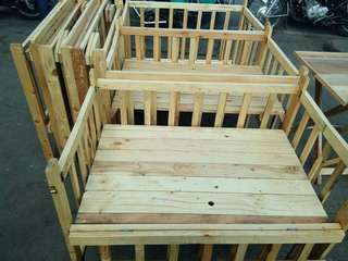 wooden cribs for sale