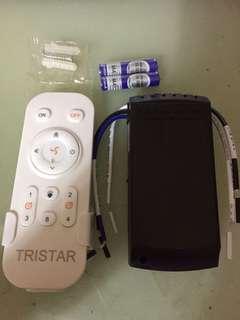 Tristar ceiling fan remote control ( 1 year warranty )