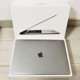 MacBook Pro 15' (2017) 512GB 太空灰 - 保養到7月