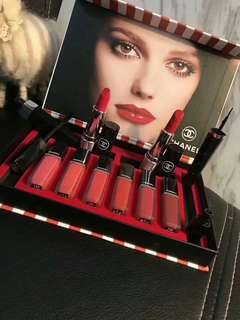 Chanel lipstick set