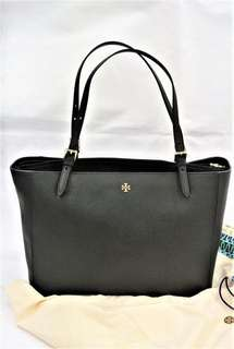 Tory Burch Tote Bag black large size