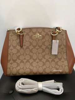 Coach Double Zip bag