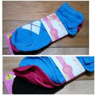 🚚 全新 船襪12對 12pairs (4色:黑/白/藍/桃) #畢業一百元出清