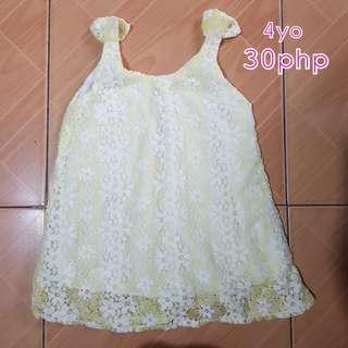 Yello dress 4T