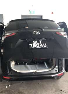 Toyota Sienta Auto Tailgate Auto Boot Soft Closing