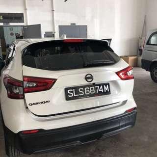 Nissan Qashqai Auto Tailgate Auto Boot Soft Closing Anti Slam