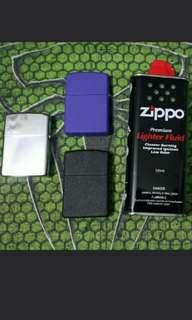 Zippo Lighter&Lighter Fluid