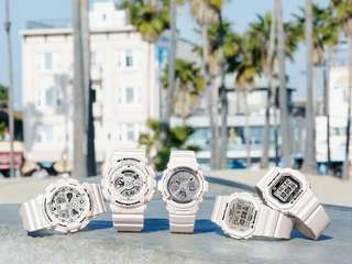 Casio Gshock G-shock Baby-g 2018 new 新款手錶