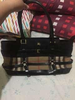 Pre loved Burberry bag