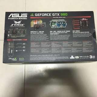 GE FORCE GTX 980 ASUS STRIX