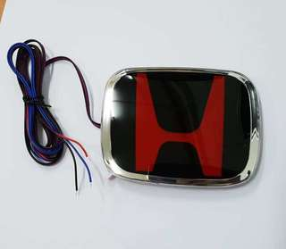 Rear honda city logo with led