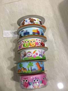 Assorted Ribbons - Moving House Sale