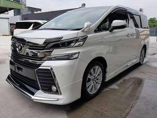 Toyota Vellfire 2.5za - 2015