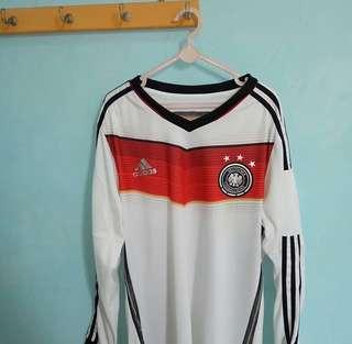JERSEY LONGSLEEVE GERMANY WORLD CUP 2014 SIZE S