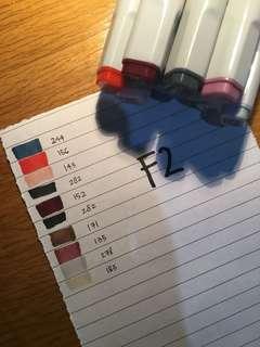 fine colour 10 pcs ( F2 )