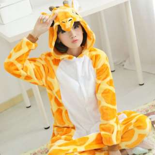 Giraffe Adult Onesie