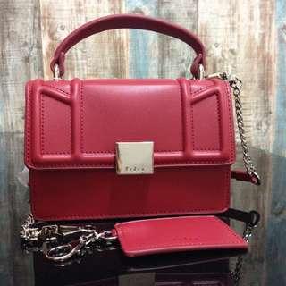 PEDRO Front-Flap Crossbody Handbag