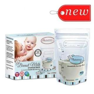 Breast milk storage bags 25