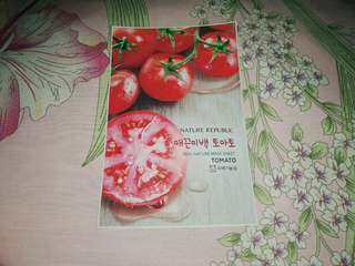 Nature Republic Sheet Mask - Tomato