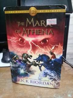 Mark of Athena Hardbound Good-tear on DJ
