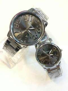 Geneva couple watch W/ box Php350