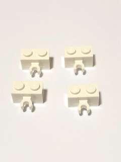 Lego Bricks L162 White New (4pc)