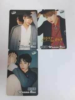【Yes!Card】WannaOne3張