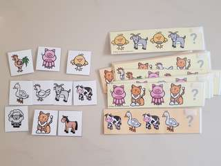 Farm-Animal-Pattern Cards