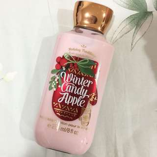 Bath&body works Body lotion winter candy apple
