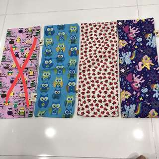 Handmade beansprout husk pillow brand new 15x40 cm many designs to choose clear stock so got promo designs cotton material ok for baby newborn toddler children kids