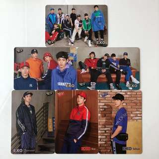 EXO Yes! Card 第35期 白卡