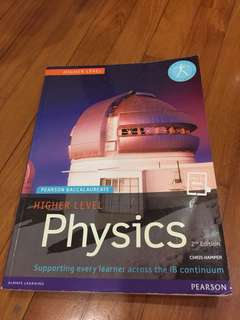 Higher Level Physics by Pearson Baccalaureate